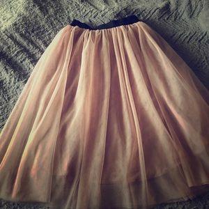 2c174cf82 Halogen Skirts | Tulle Midi Skirt | Poshmark